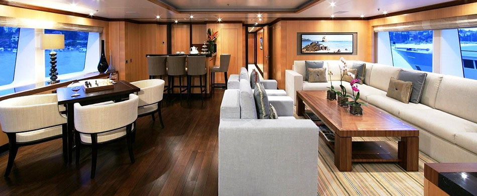Andreas L Yacht for Charter - Recreation Room