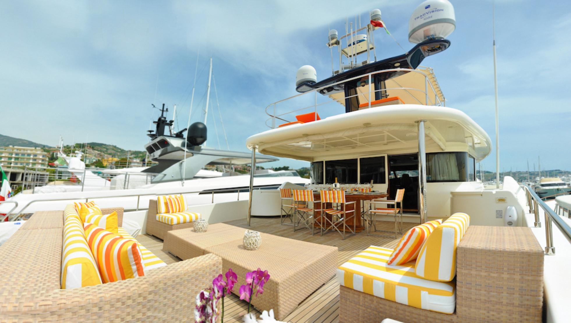 Plenty of deck space