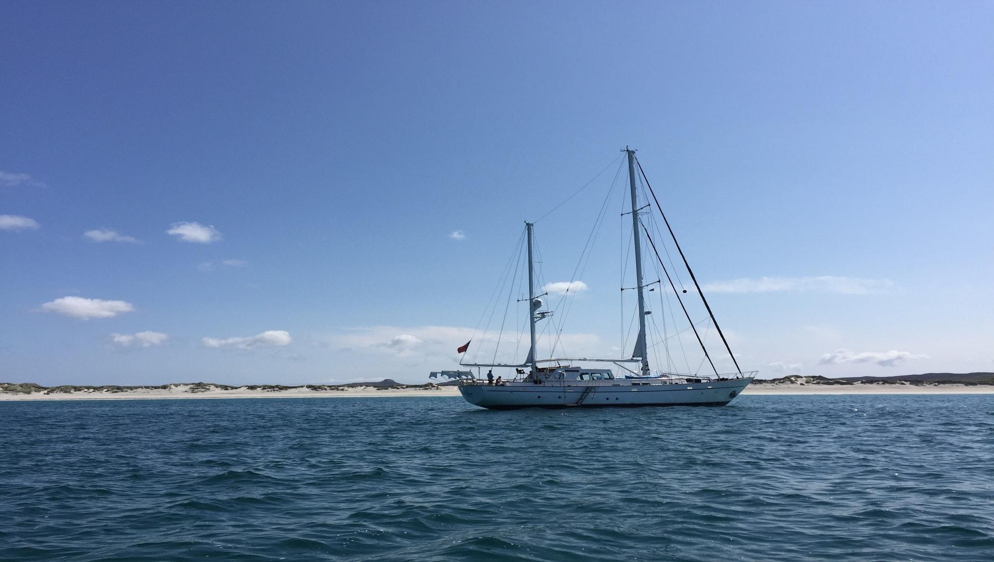 Built to sail around the world