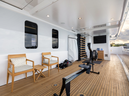 Gym onboard