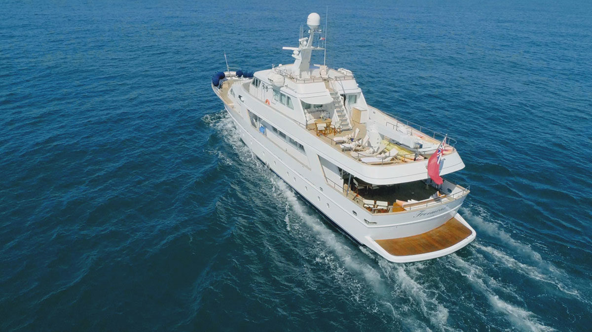 M/Y FREEMONT for sale!