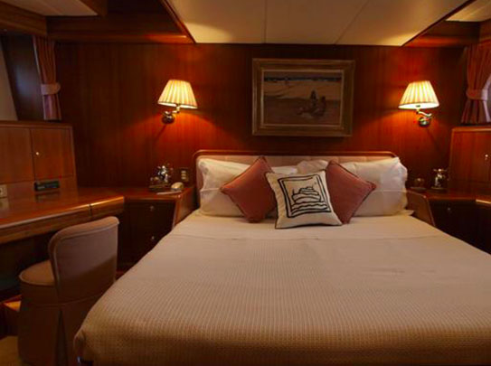Evnike Yacht for sale - Amenities - Comfortable Cabins