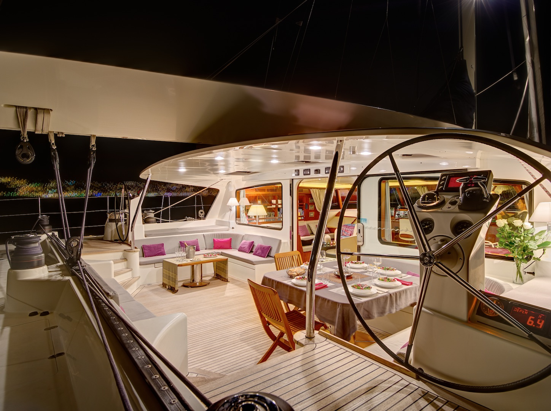 Impressive deck spaces