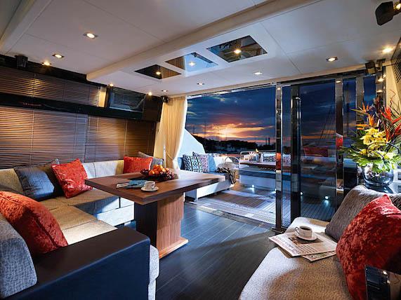 Very comfortable interior