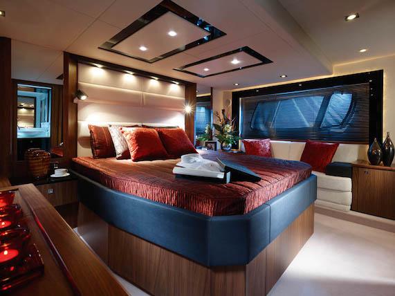 3 spacious cabins