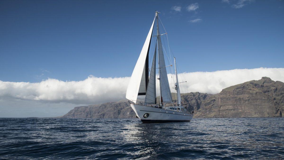 Sailing on Lord Jim