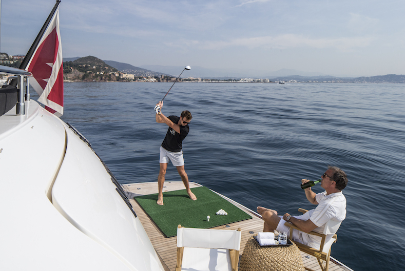 Yacht & Golf in the French Riviera