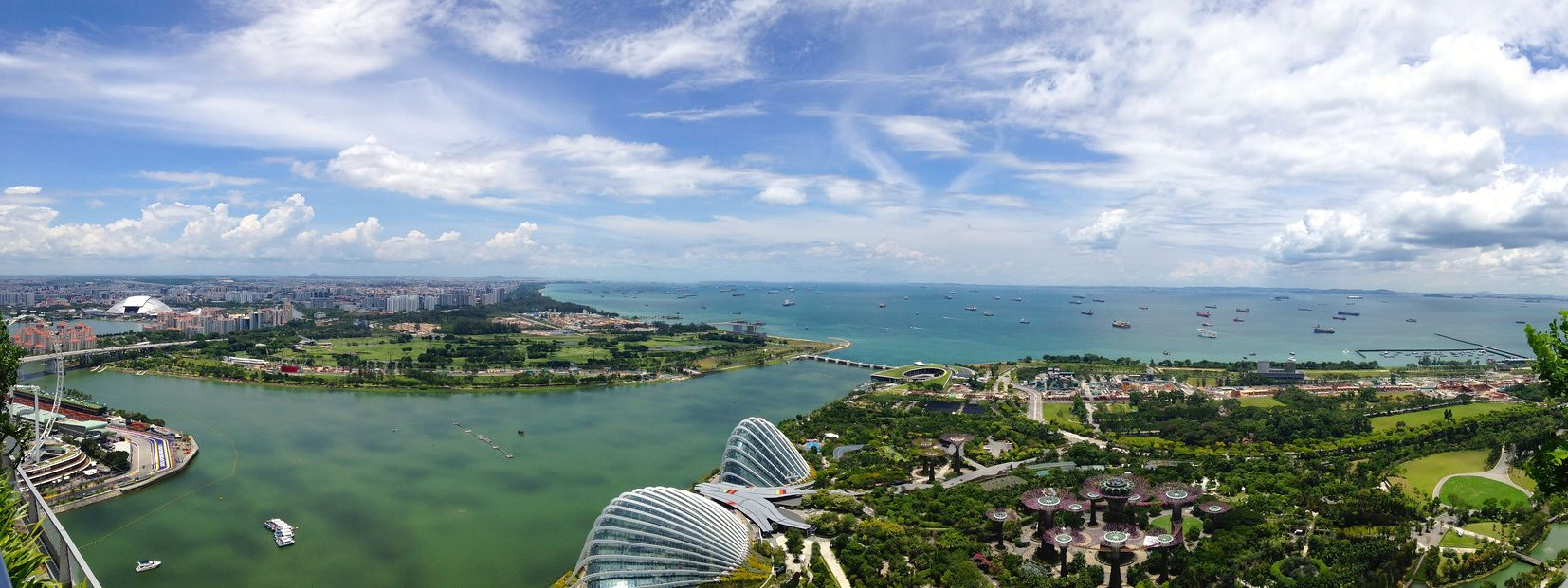 View of Singapore.