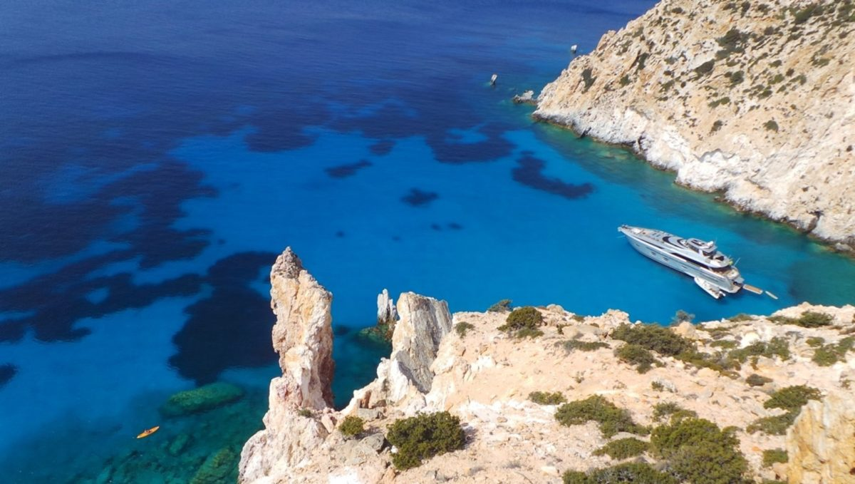 Discover Greece aboard luxury yacht Meya Meya this summer