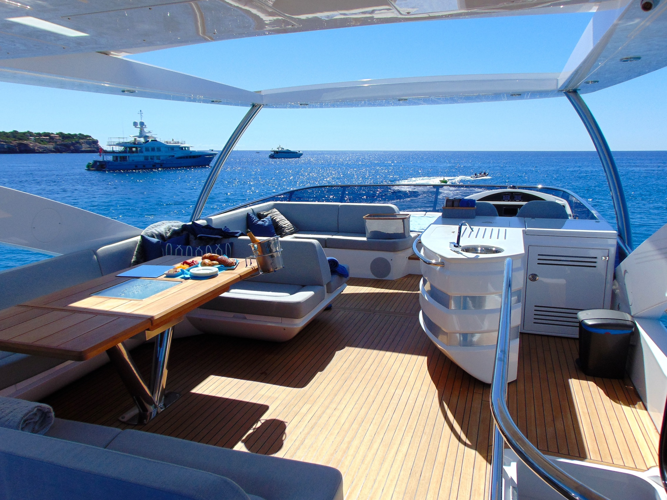 Expensive sundeck