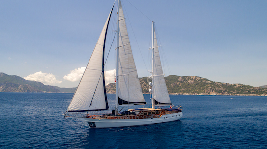 One of the most luxurious sailing ketch for charter in Greece