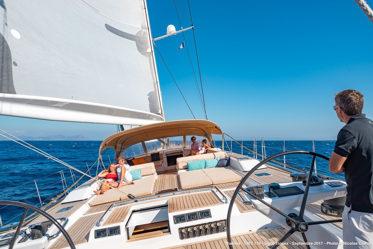 Best combination of Elegance and High Performance Sailing yacht
