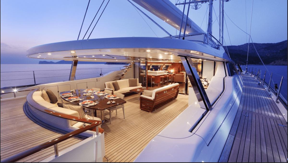 Photo of the yacht named Prana.